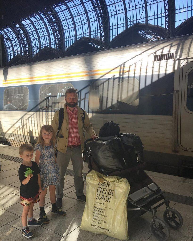 Tågresa till Österrike