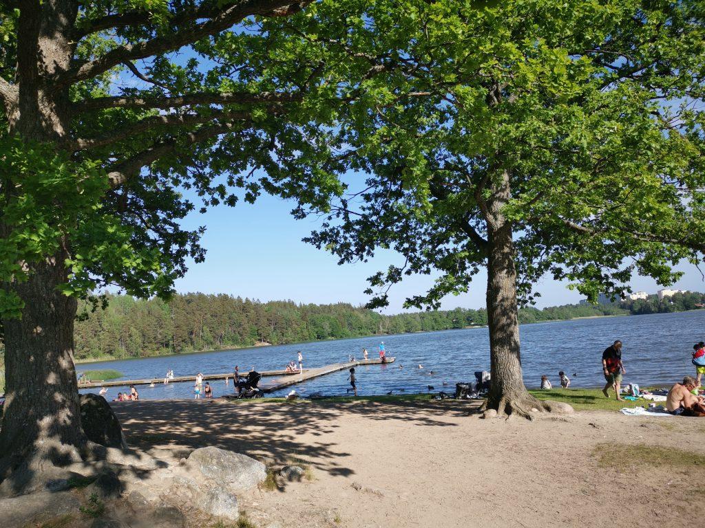 Ängsholmsbadet i Täby