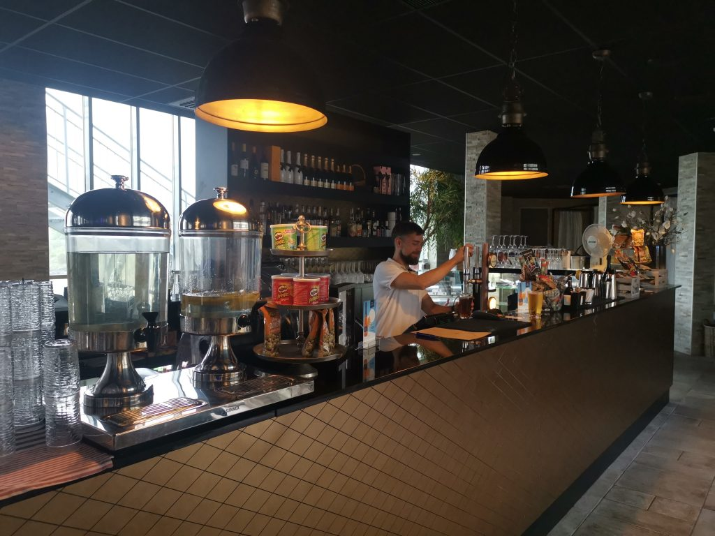 Bar i spa:et på Hotell Havsbaden