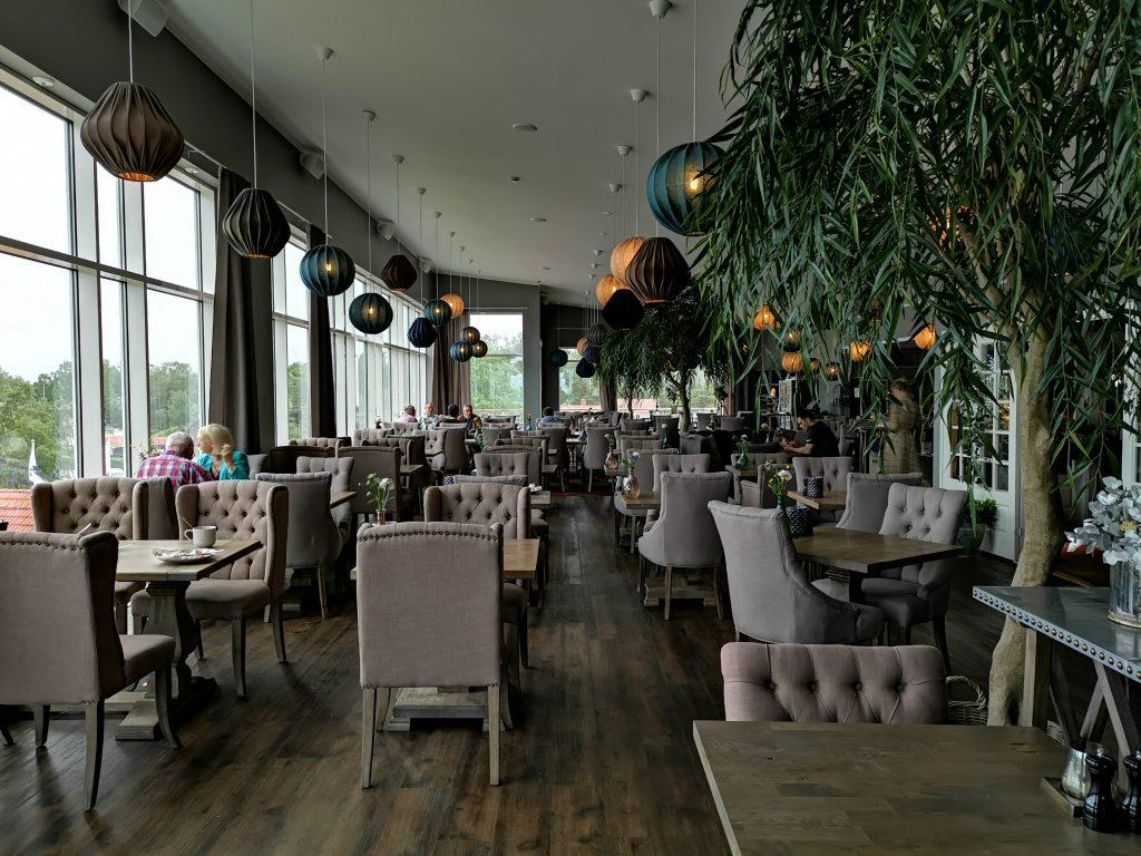 Restaurangen på Hotell Havsbaden