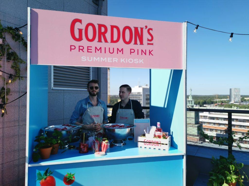 Gordon's pink - Sommarkiosk