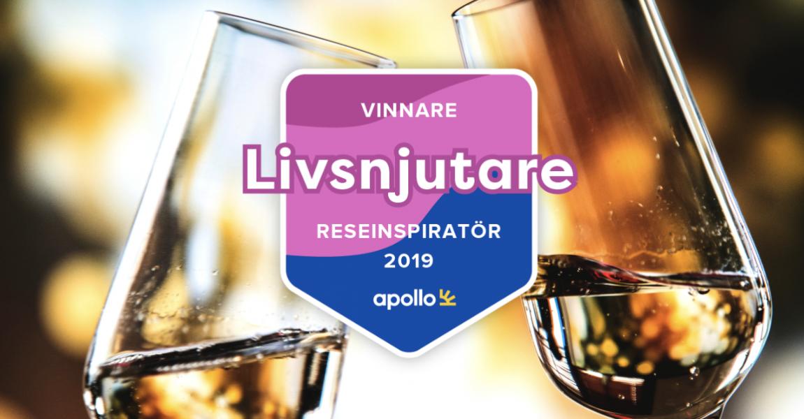 Vinnare i Årets Reseinspiratör 2019 - Livsnjutare