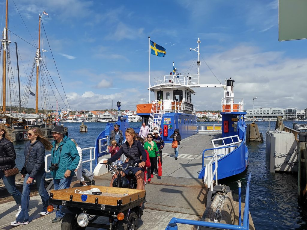 Färjan över till Marstrandsön