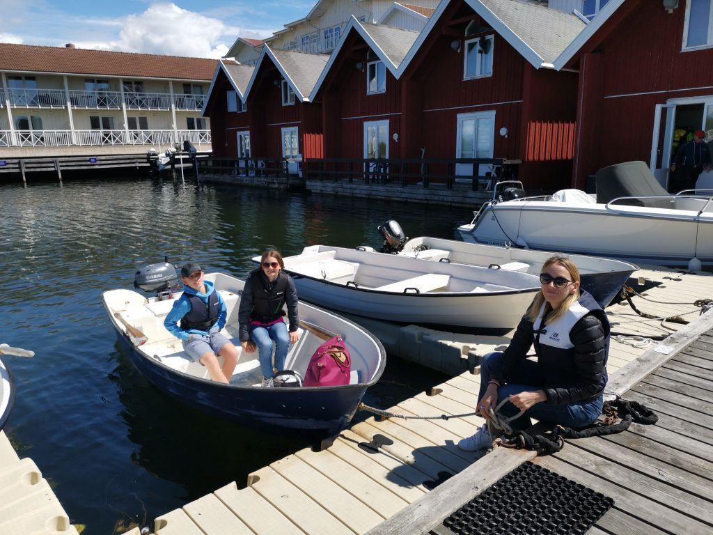 Hyra egen motorbåt på Tanumstrand