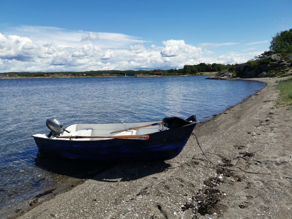 Båtutflykt till Otterön