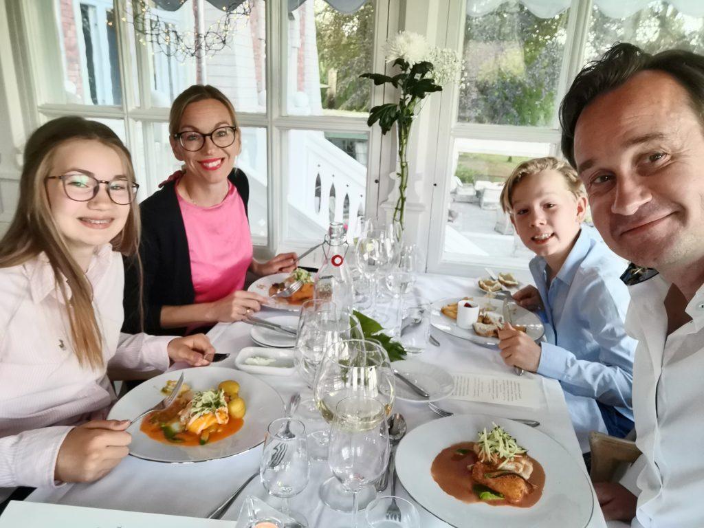 Middag på Thorskogs Slott