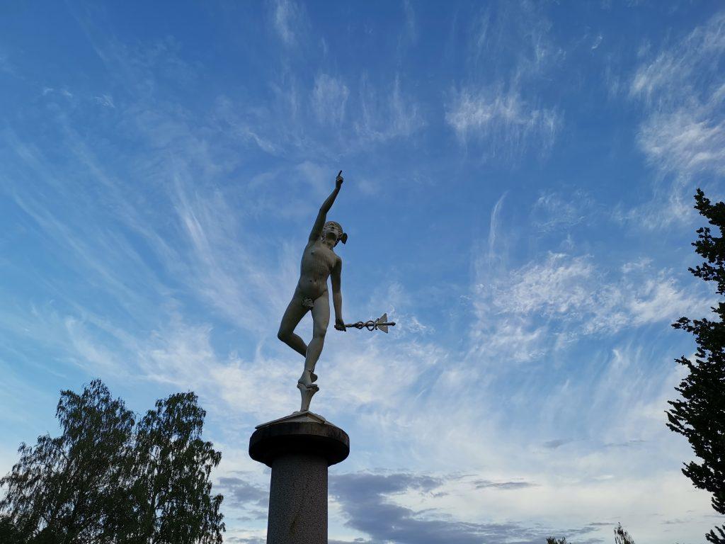 Skulpturpark i Rottneros Park