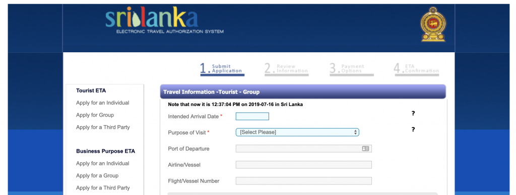 Gratis Visum till Sri Lanka - så här gör du