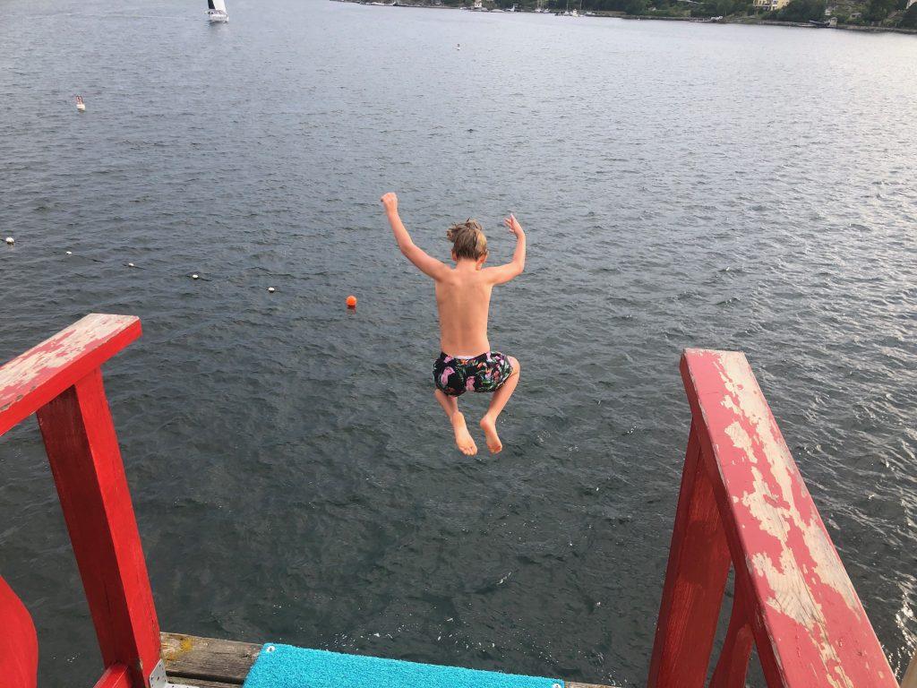 Saltisbadet - Stockholms högsta hopptorn