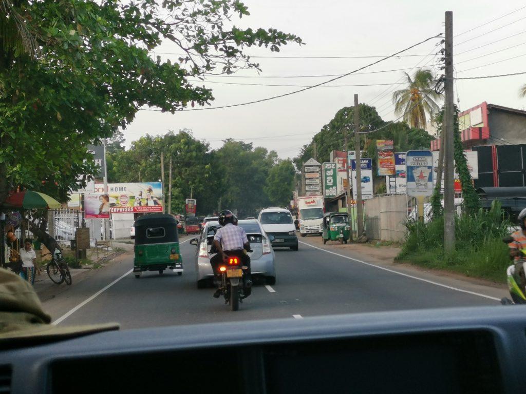 Trafiken på Sri Lanka