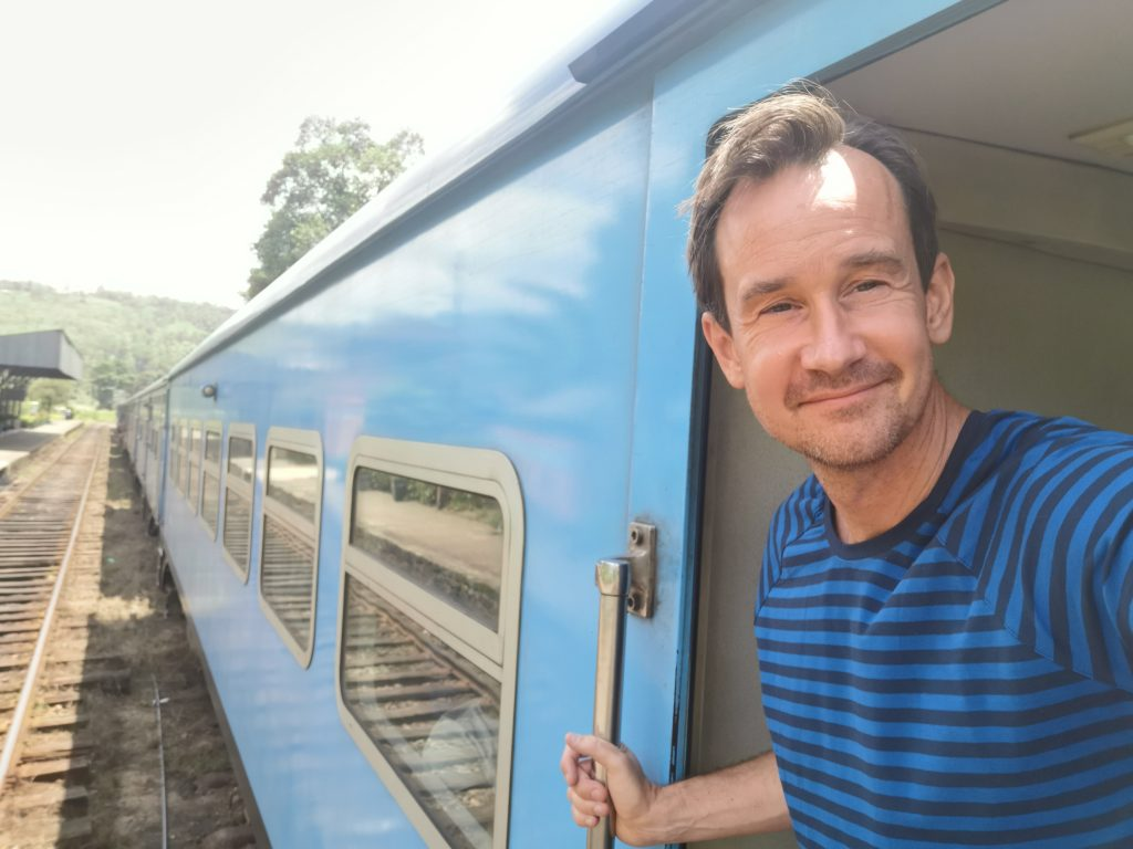 Tåget från Kandy till Nuwara Ellya