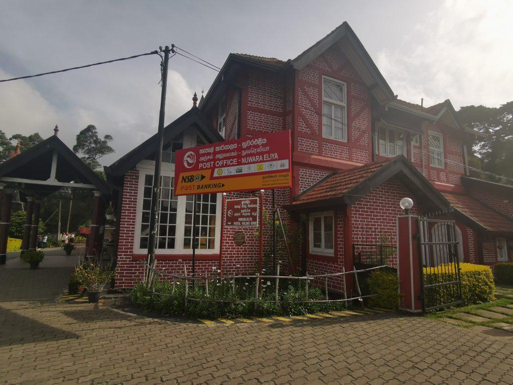 Nuwara Ellya Post office