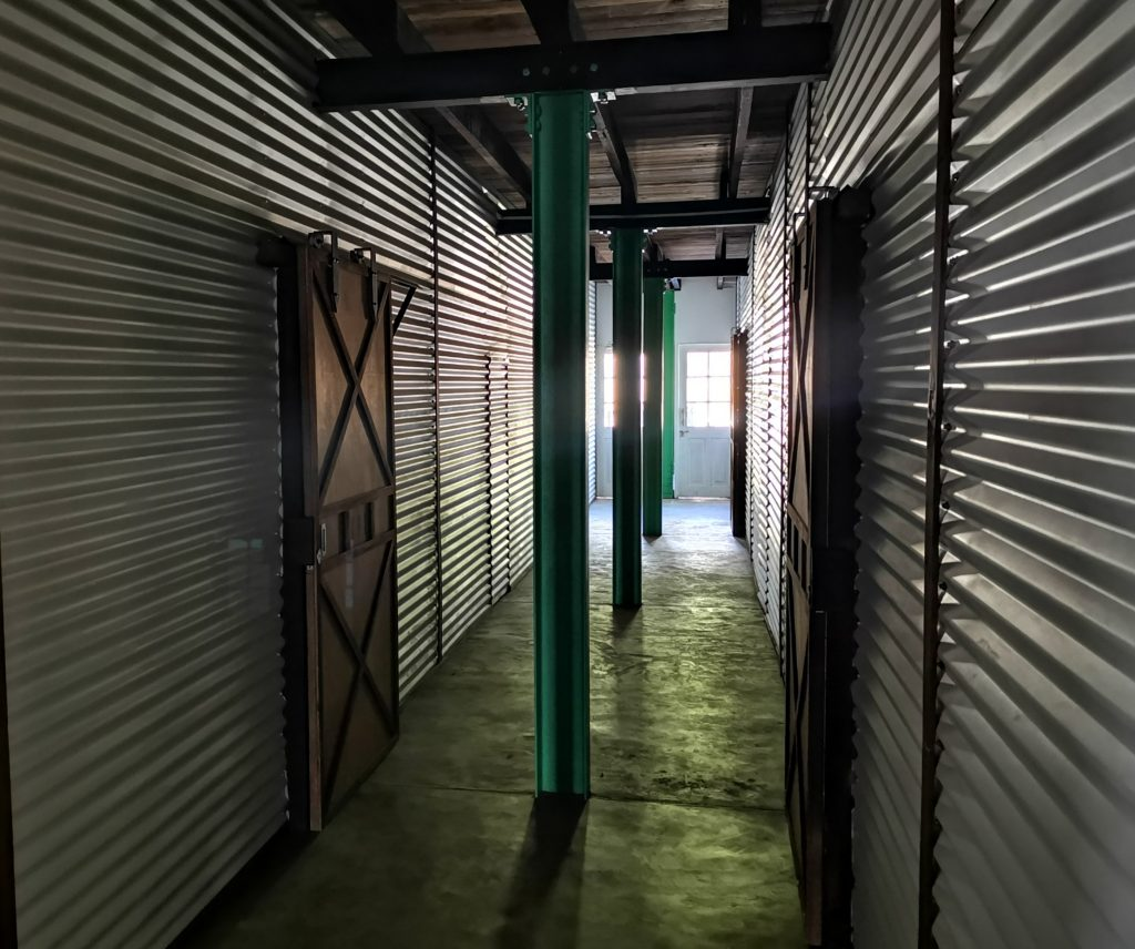 Rummen på Tea & Experience factory