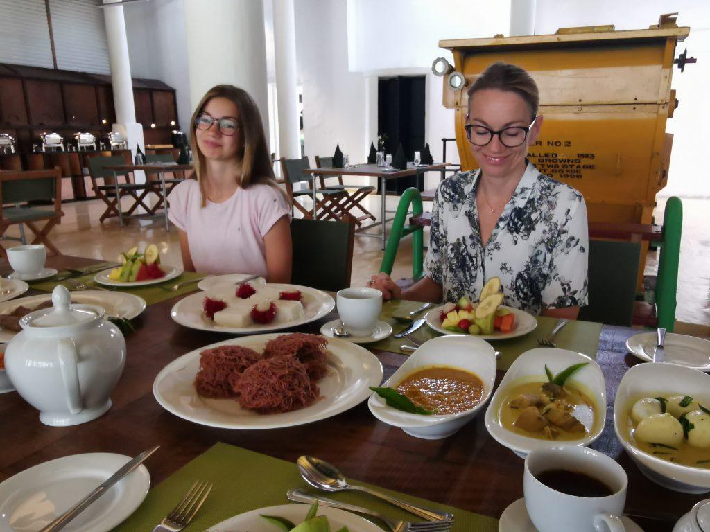 Restaurangen och bar på Tea & Experience factory