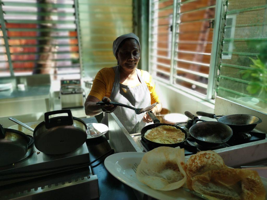 Hopper till frukost