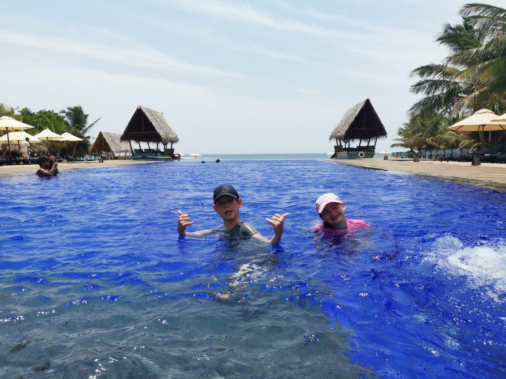 Hotell på Sri Lankas östkust