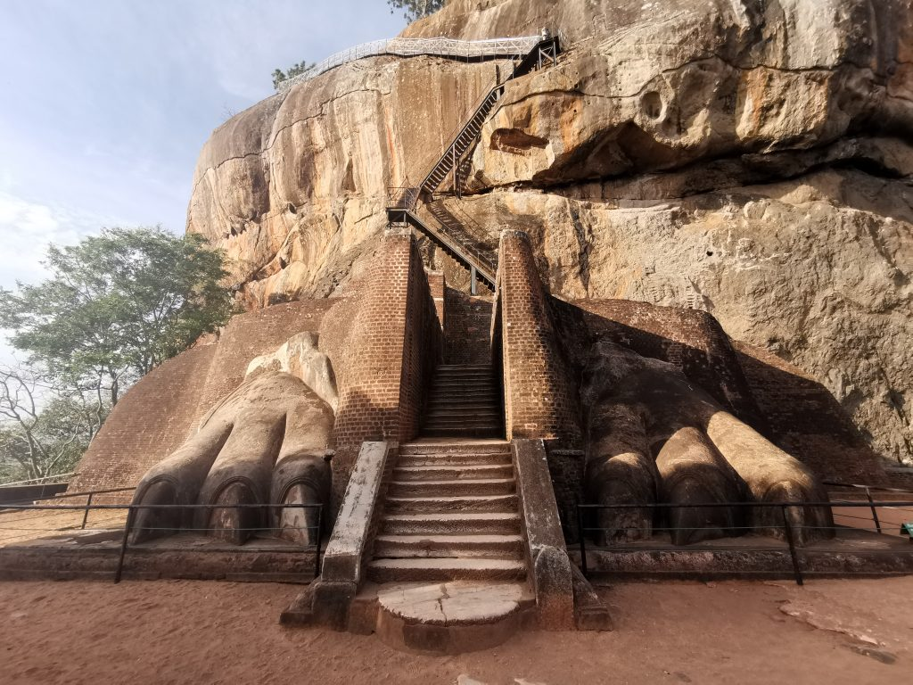 Bestiga Sigiriya - Lion Rock