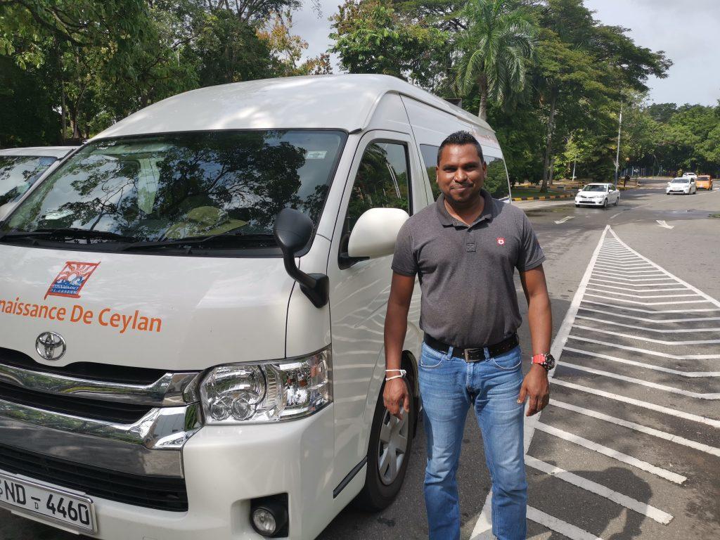 Sri Lanka med egen chaufför