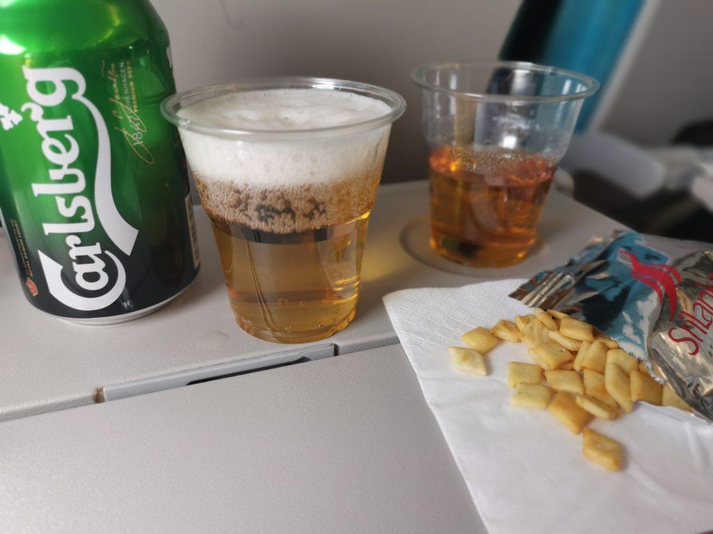 Mat och dryck på Sri Lankan airlines - flyg till sri lanka