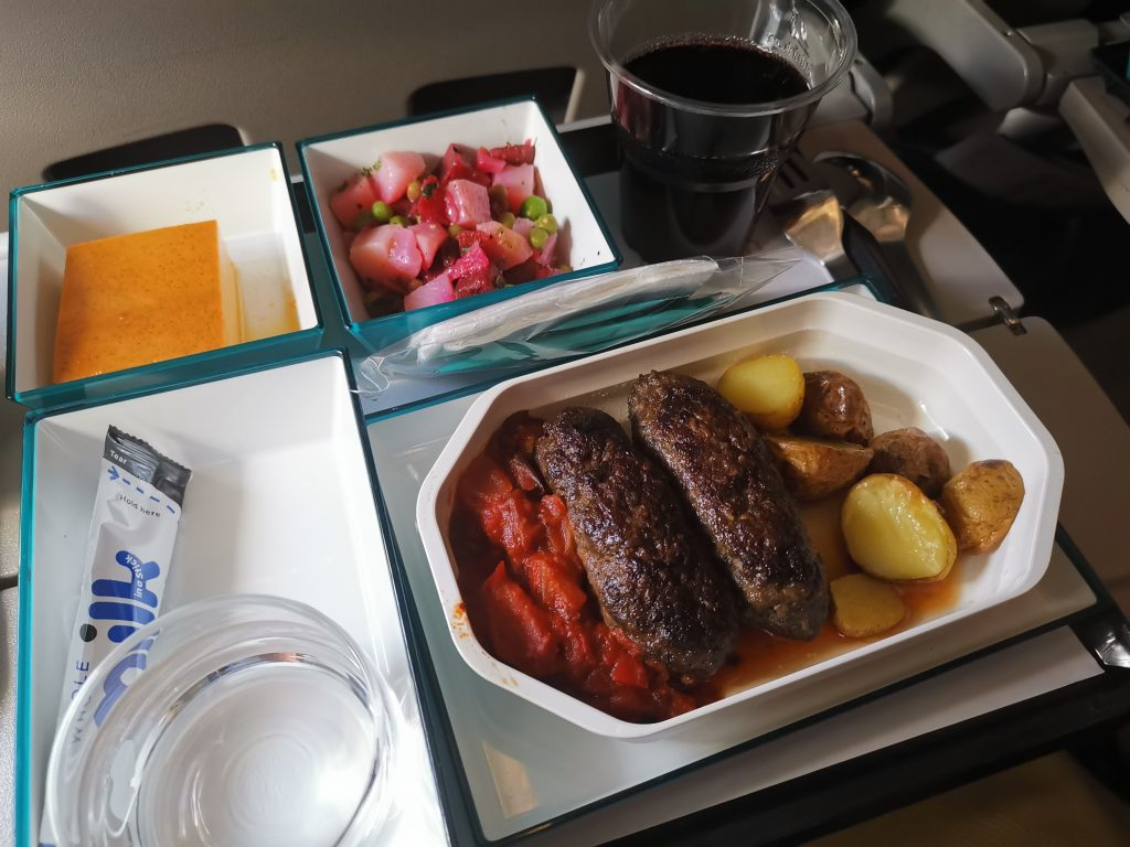 Mat och dryck på Sri Lankan airlines - flyg til sri lanka