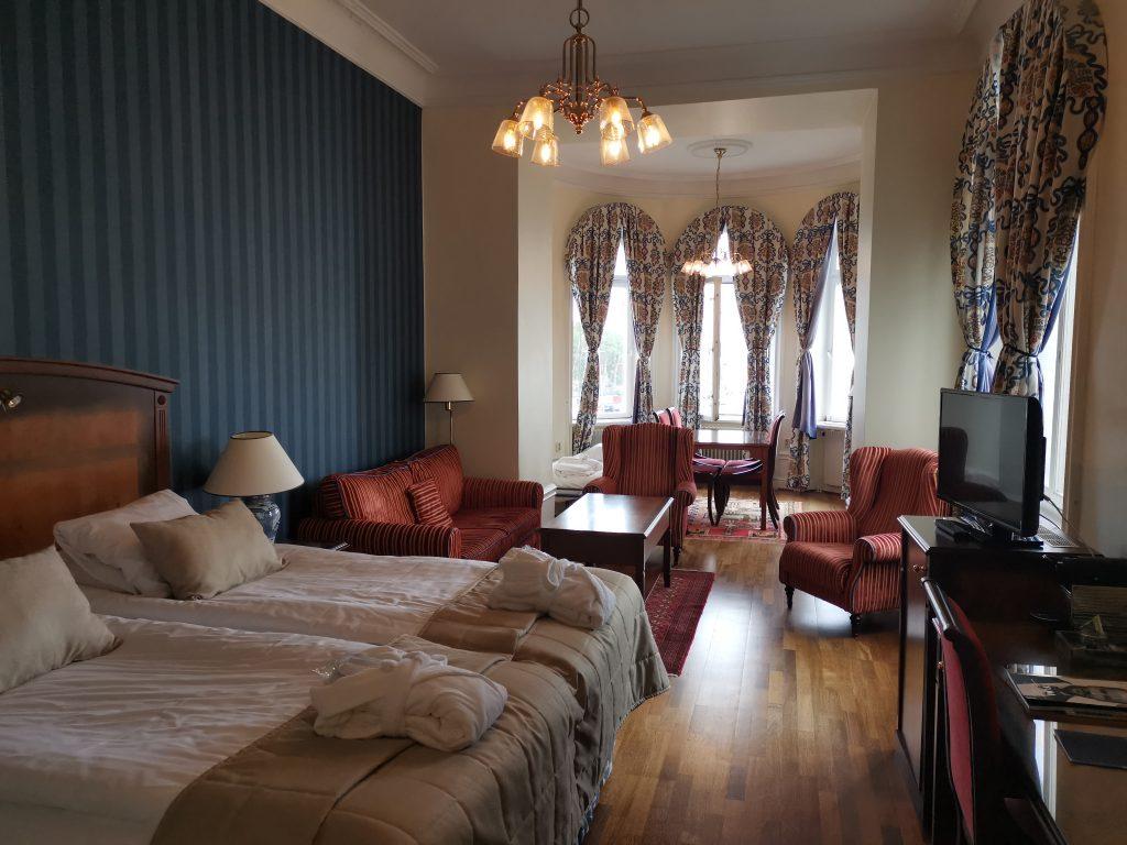 Rummen på Grand Hotell Saltsjöbaden