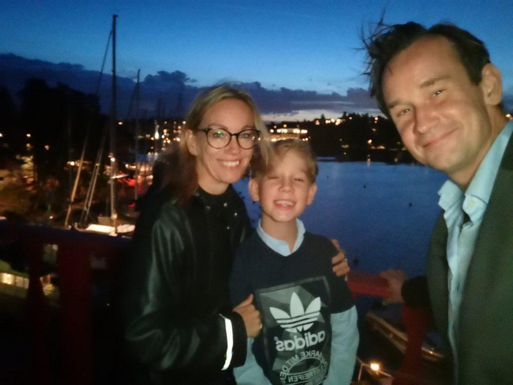 Kvällspromenad runt Grand Hotell Saltsjöbaden