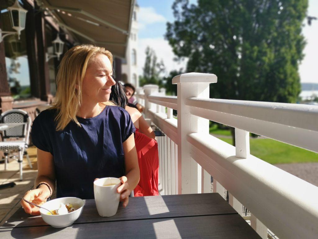 Frukost på Grand Hotell Saltsjöbaden