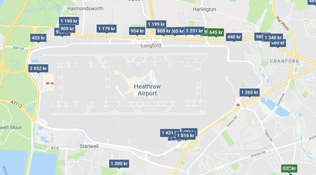 Billigt och bra hotell på Heathrow Flygplats