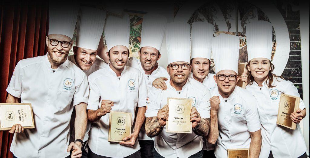 Vinnarna i Årets Kock 2019 - Finalister i Årets Kock 2019