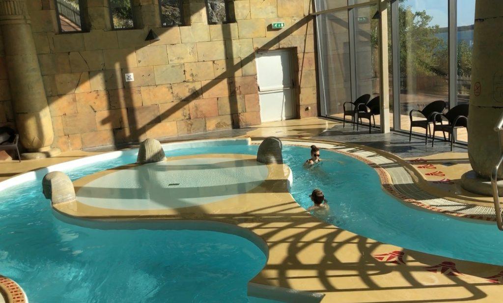 Bad och spa på Vildmarkshotellet