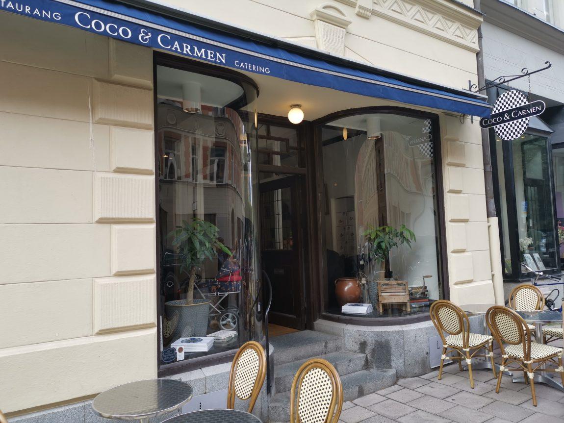 Lunch på Coco & Carmen