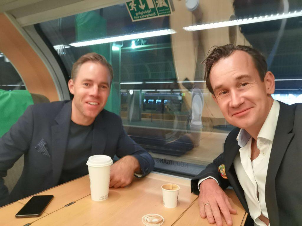 Weekend i Uppsala - tåget dit