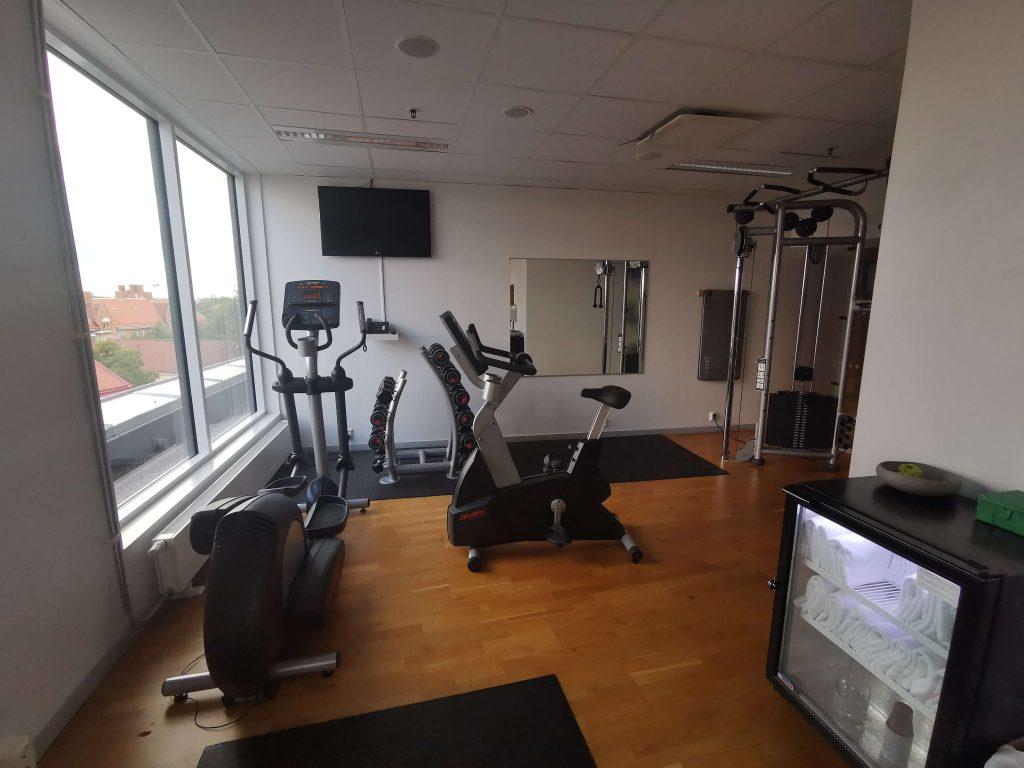 Gym och relax på Radisson Blu Uppsala