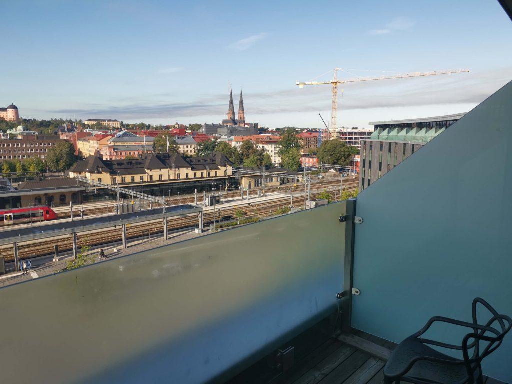 hotell i centrala Uppsala - Radisson Blu Uppsala balkong