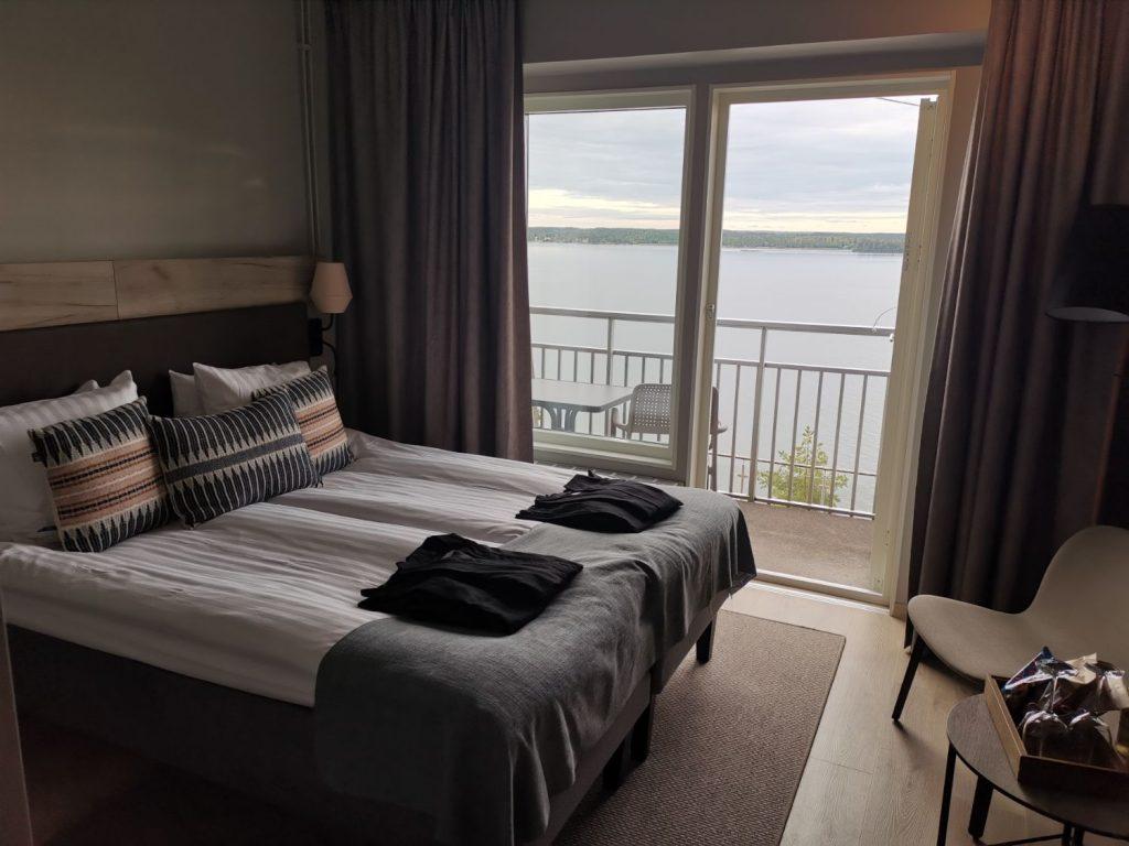 Dubbelrum med Havsutsikt på Vildmarkshotellet