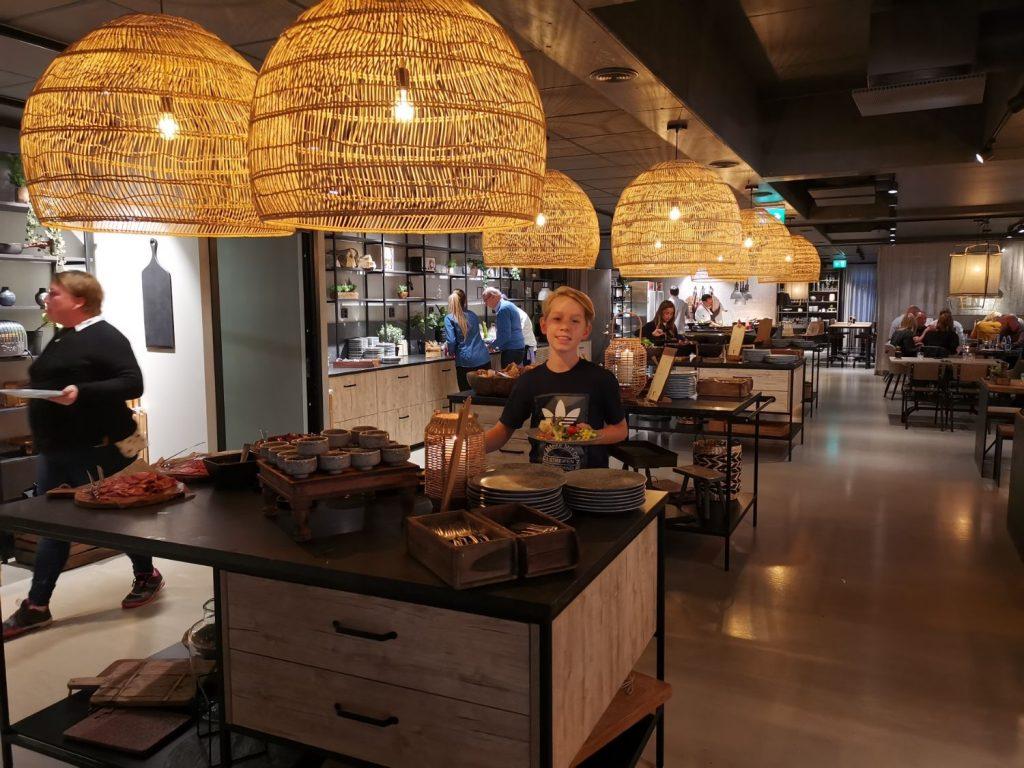 Restaurangen på Vildmarkshotellet