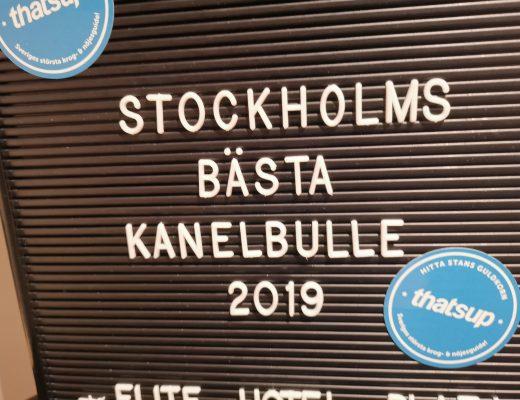 Stockholms Bästa Kanelbulle