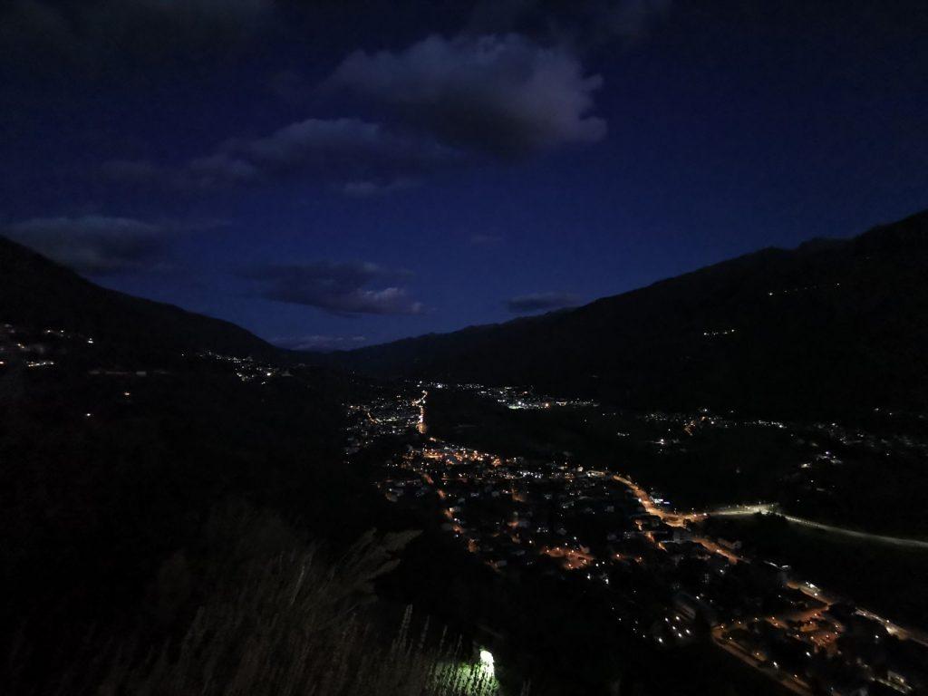 Valtinella by night