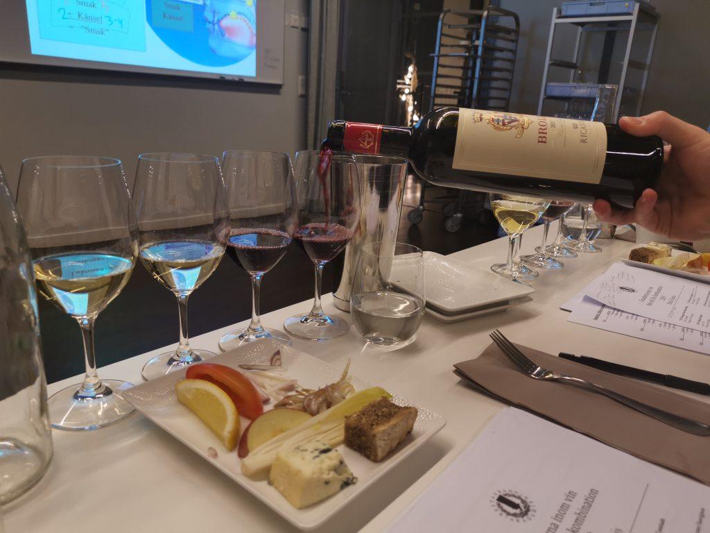 WSET nivå 1 på Restaurangakadmien - Nybörjarkurs i vin