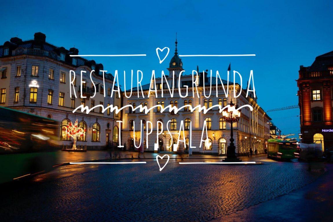 Restaurangrunda i Upsala