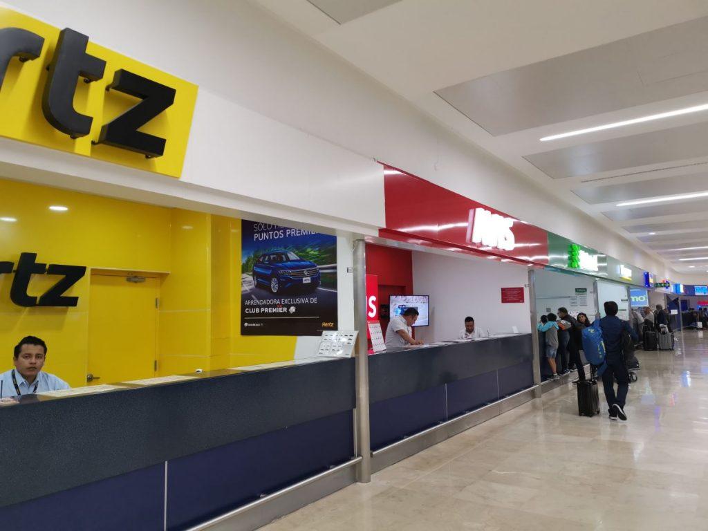 Hyra bil på Cancun Airport