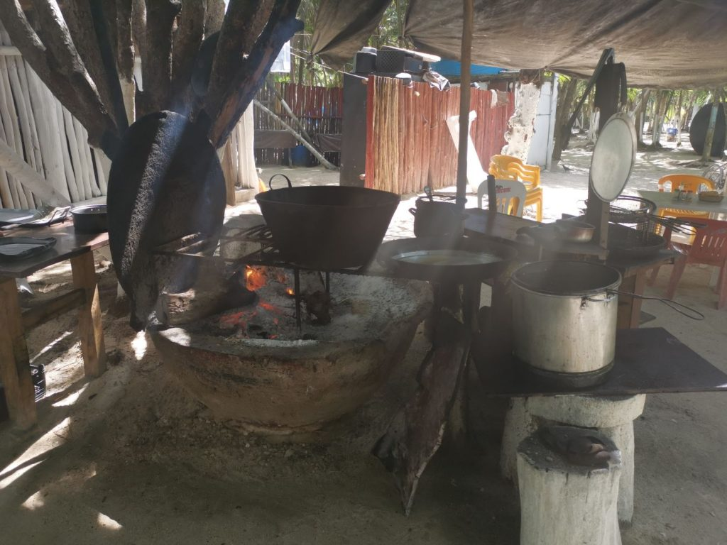 Restaurangen Chamicos Tulum