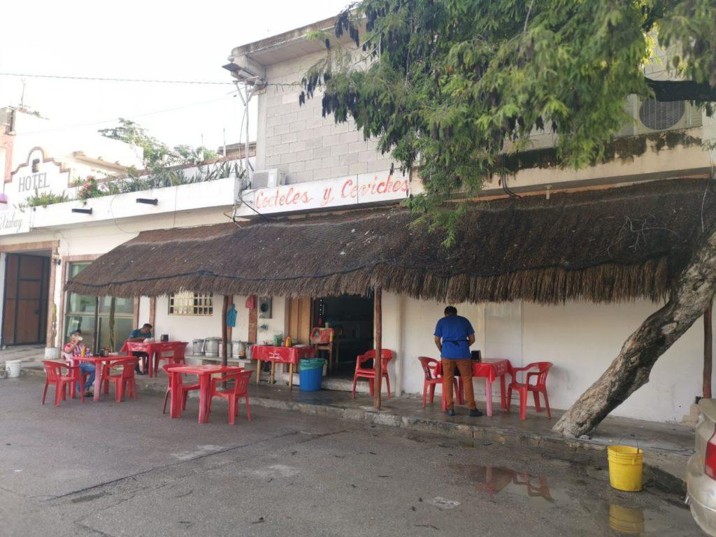 Frukost-tamale Restauranger i Tulum Town