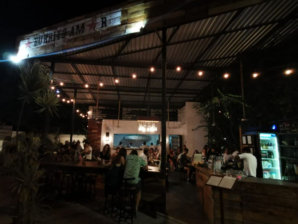 Restauranger i Tulum Town Burrito Amor