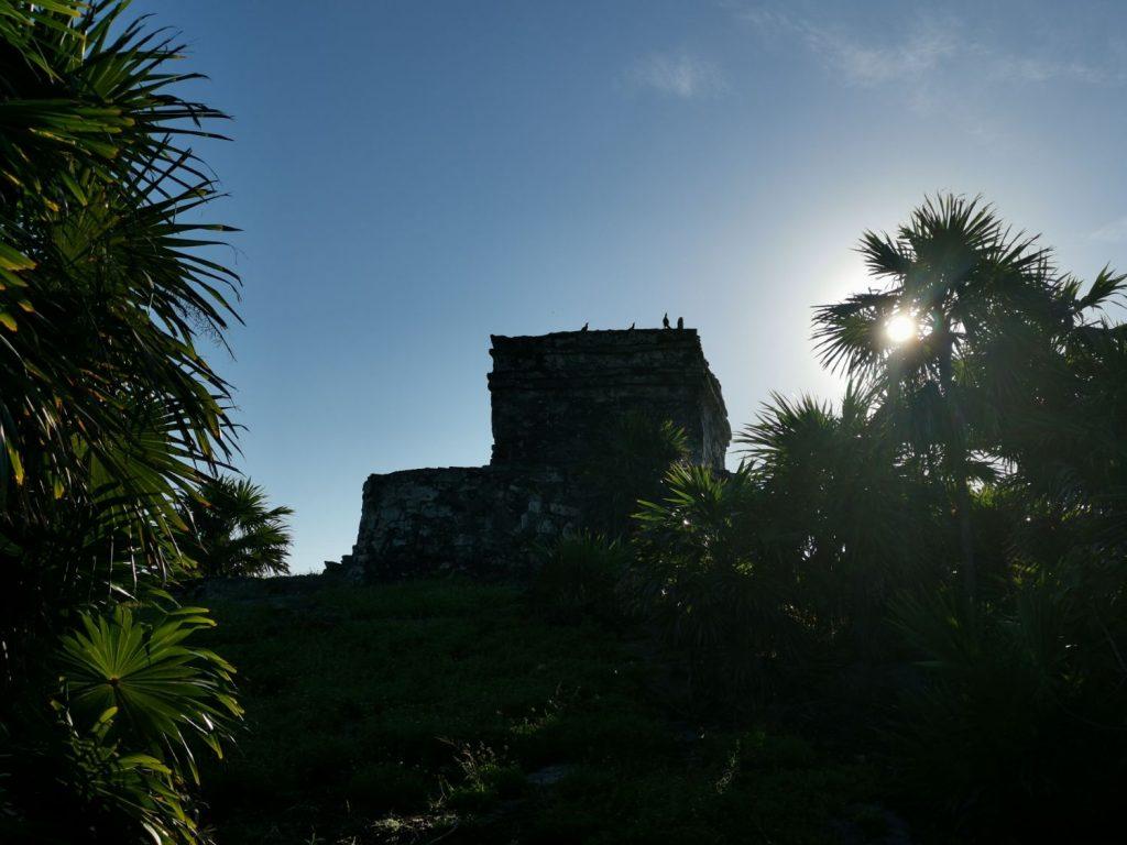 Mayaruiner i Tulum