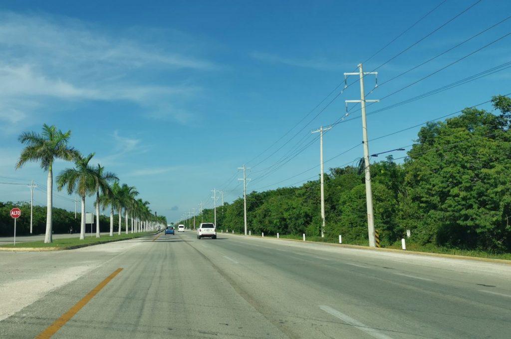 Köra bil mellan Cancun och Tulum