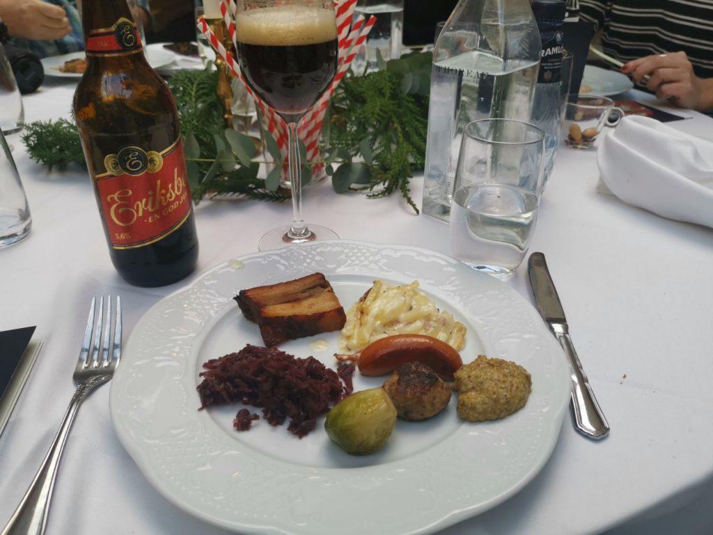 Julbord på Hallwylska