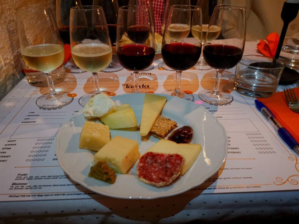 Vinprovning med Tastya i Gamla Stan