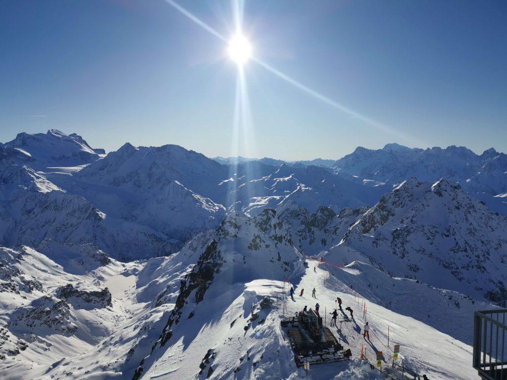 Högsta alptoppen i 4 vallées - Mont Fort