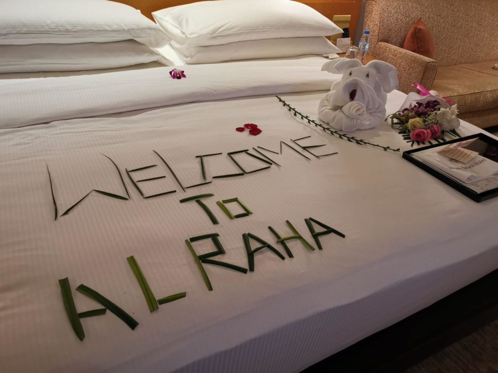 Al Raha Beach Hotel Rum